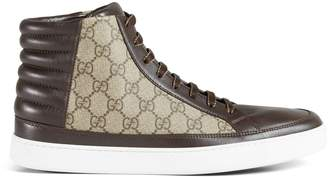 Gucci GG Supreme high-top sneaker