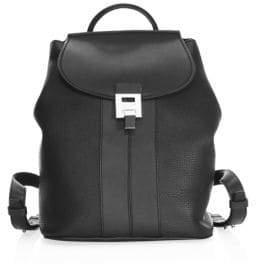 Michael Kors Bandcroft Leather Backpack