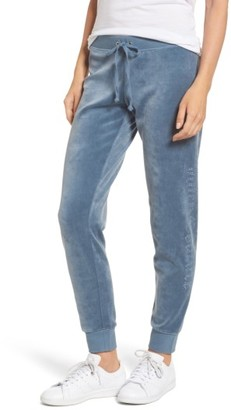 Women's Juicy Couture Zuma Crystal Velour Pants