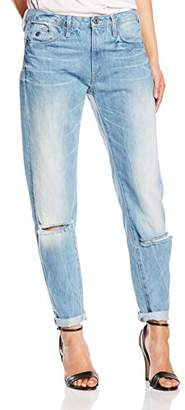 G Star Women's Type C 3D Low Woman Neya Denim Boyfriend Jeans, Multicoloured (Light Aged Scar Ds)