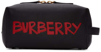 Burberry Black Graffiti Pouch
