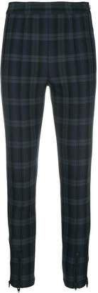 Alexander Wang tartan skinny-fit leggings