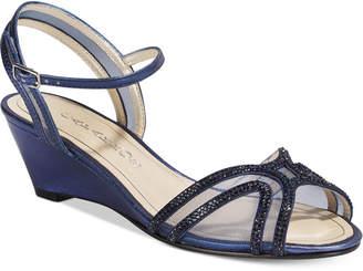 Caparros Hilton Wedge Evening Sandals Women's Shoes