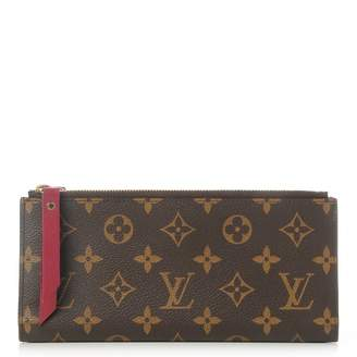 Louis Vuitton Wallet Adele Monogram Fuchsia