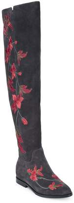 Ash Women's Jess Embroidered Over the Knee Boots