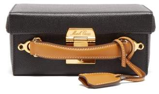 Mark Cross Grace Small Leather Cross Body Bag - Womens - Black Tan