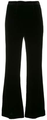 Roland Mouret flared high waisted trousers