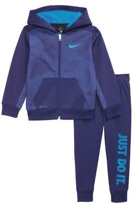 Nike Therma Zip-Up Hoodie & Sweatpants Set