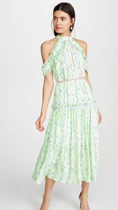 Glamorous Apple Linear Floral Crepe Dress
