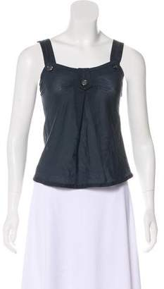 Marc by Marc Jacobs Sleeveless Button-Accented Top