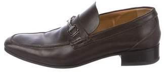 Gucci Leather Horsebit Dress Loafers