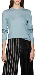 Boon The Shop Women's Cashmere-Blend Crewneck Sweater - Lt. Blue