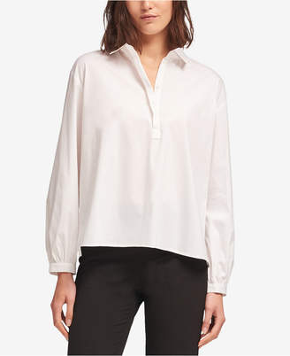 DKNY Button-Front Collared Shirt