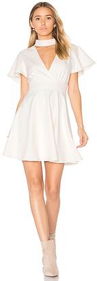MAJORELLE Sudan Secret Dress in Ivory $170 thestylecure.com