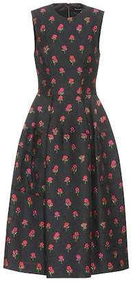 Simone Rocha Floral-embroidered dress