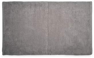DKNY Grey Cotton 'Mercer' Bath Mat