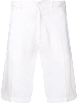 Billionaire embroidered logo bermuda shorts