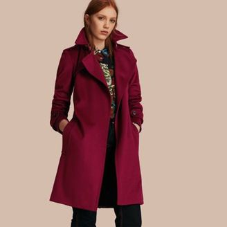 Burberry Cashmere Wrap Trench Coat $2,595 thestylecure.com