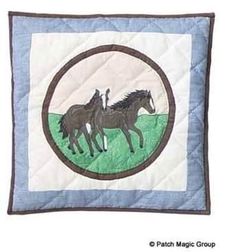 Patch Magic Horse Friends Toss Pillow