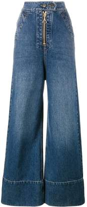 Ellery wide leg denim jeans