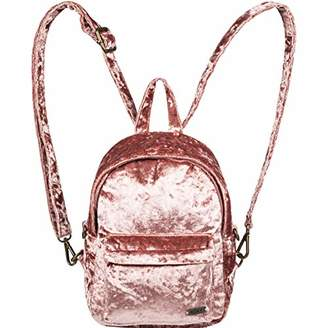 Roxy Junior's Walking Away Velvet Mini Backpack