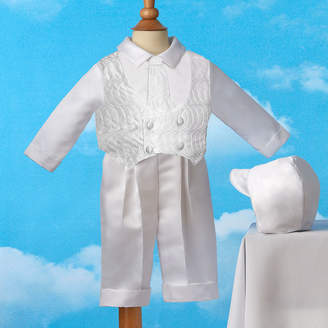 Haddad Keepsake Christening Suit - Boys newborn-12m