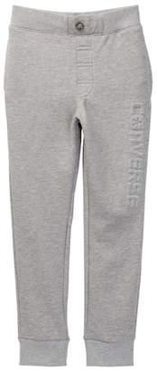 Converse Embossed Wordmark Jogger Pants (Big Boys)