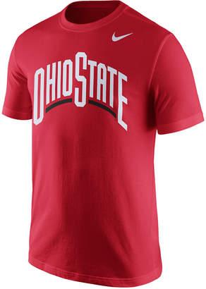 Nike Men's Ohio State Buckeyes Wordmark T-Shirt $26 thestylecure.com