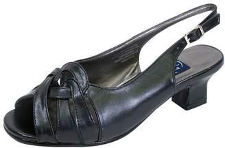 2c8784eaa93 Peerage Helen Women Extra Wide Width Slingback Sandal 7.5