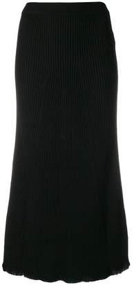 Sonia Rykiel ribbed midi skirt