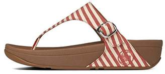 FitFlop Women's The Skinny Fabric Flip Flop