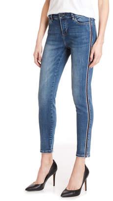 Buffalo David Bitton Wave Line Faith Mid-Rise Skinny Jeans