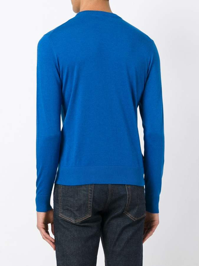 Ballantyne slim-fit pullover