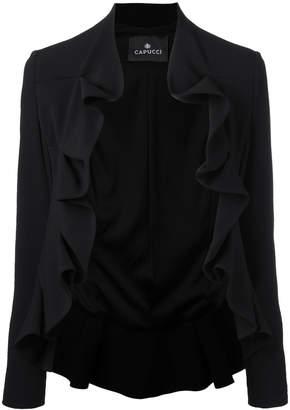 Capucci Giacca ruffle jacket