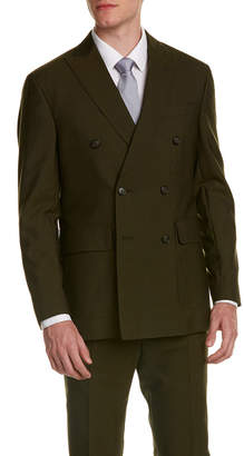 Michael Bastian Wool Suit With Flat Pant