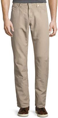 AG Jeans Graduate Sulfur Linen/Cotton Jeans