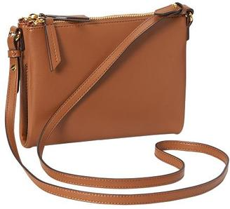 Double-Zip Crossbody Bag for Women $24.94 thestylecure.com