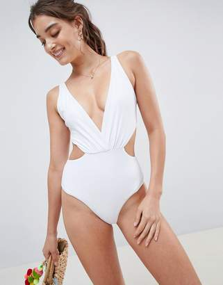 South Beach tie back swimsuit