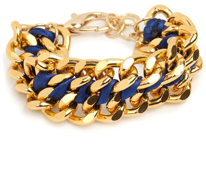 BaubleBar Blue Chunk Bracelet