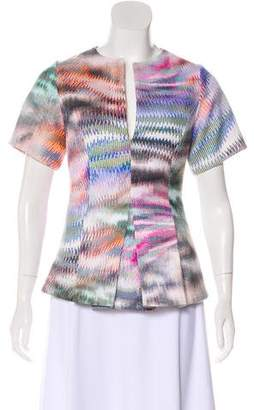 Alexis Abstract Print Top