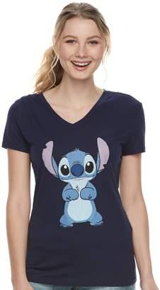 Disney's Lilo & Stitch Juniors' V-Neck Tee