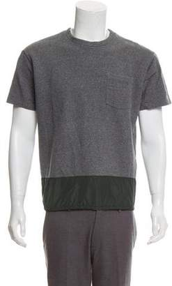 Kolor Short Sleeve Crew Neck Sweater