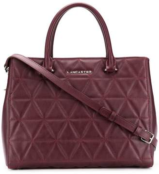 Lancaster embossed quilt tote bag