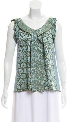 Marc Jacobs Sleeveless Jacquard Top
