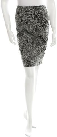 Max MaraMaxMara Printed Knee-Length Skirt