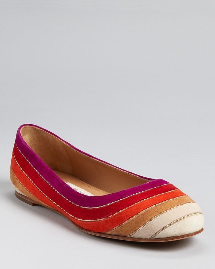 Salvatore Ferragamo Flats - Bruck Multicolor