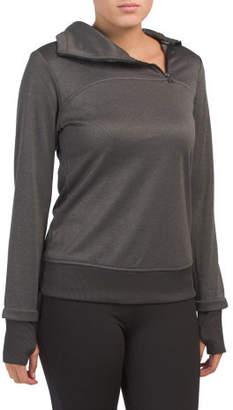 Warm Up Funnel Neck Sweatshirt