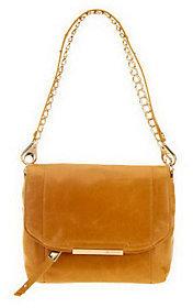 B. MakowskyAs Is B. Makowsky Jynx Glazed Leather Shoulder Bag