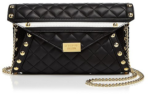 MoschinoBoutique Moschino Quilted Leather Crossbody