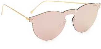 Illesteva Leonard Mask Sunglasses $190 thestylecure.com